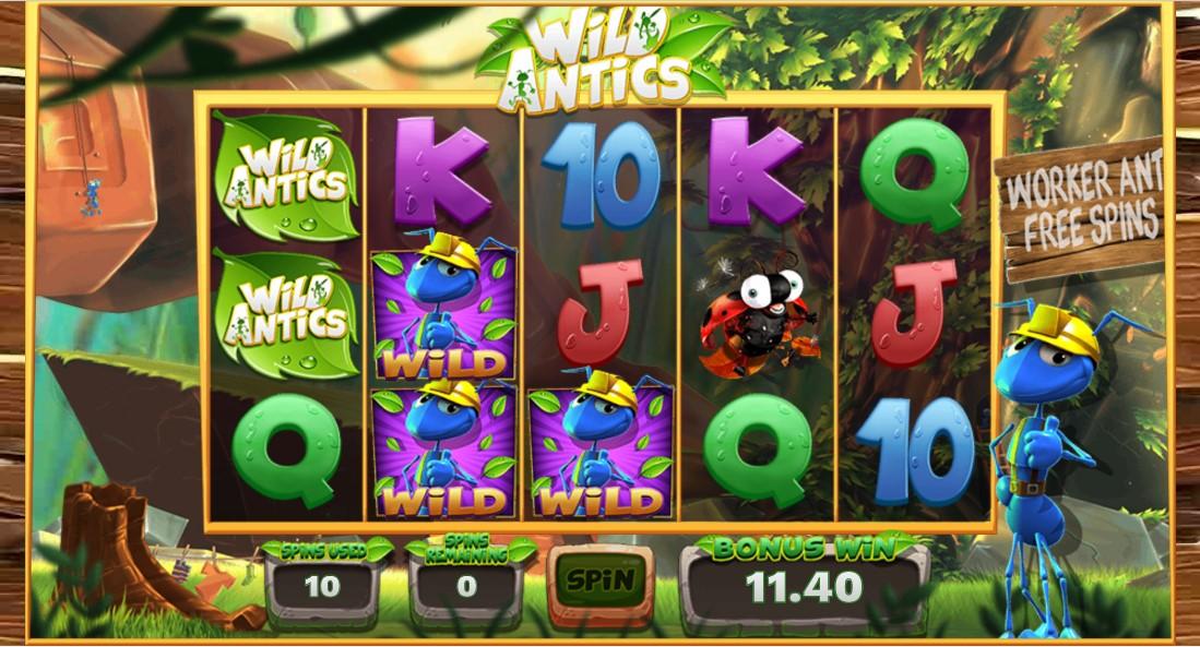 Wild Antics играть без регистрации