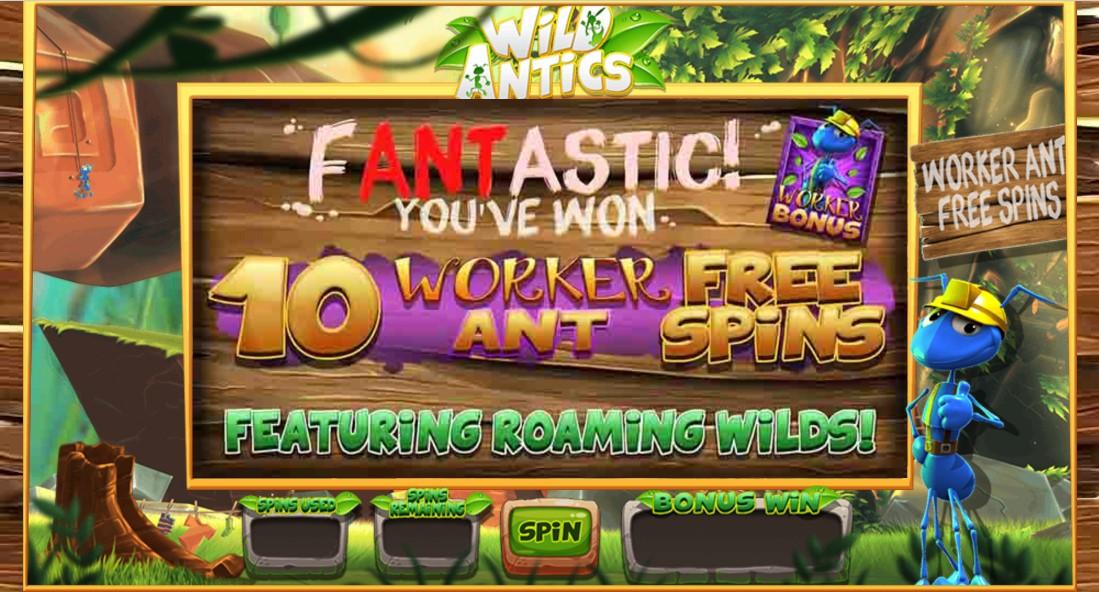Бесплатный игровой автомат Wild Antics