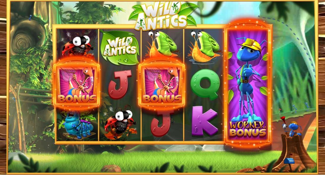 Играть Wild Antics бесплатно