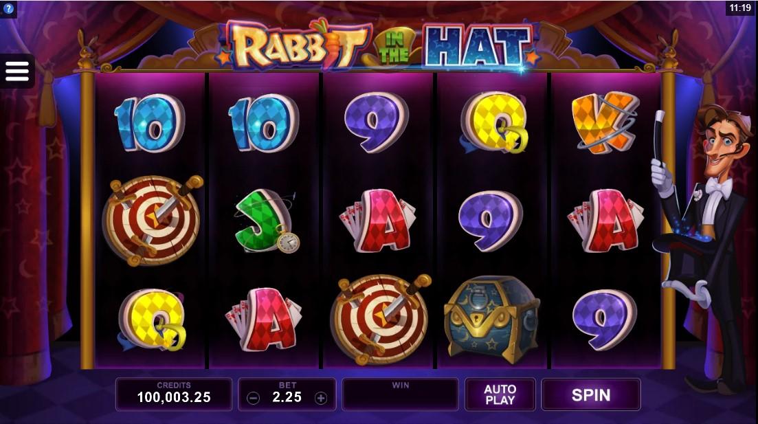 Бесплатный игровой автомат Rabbit in the Hat