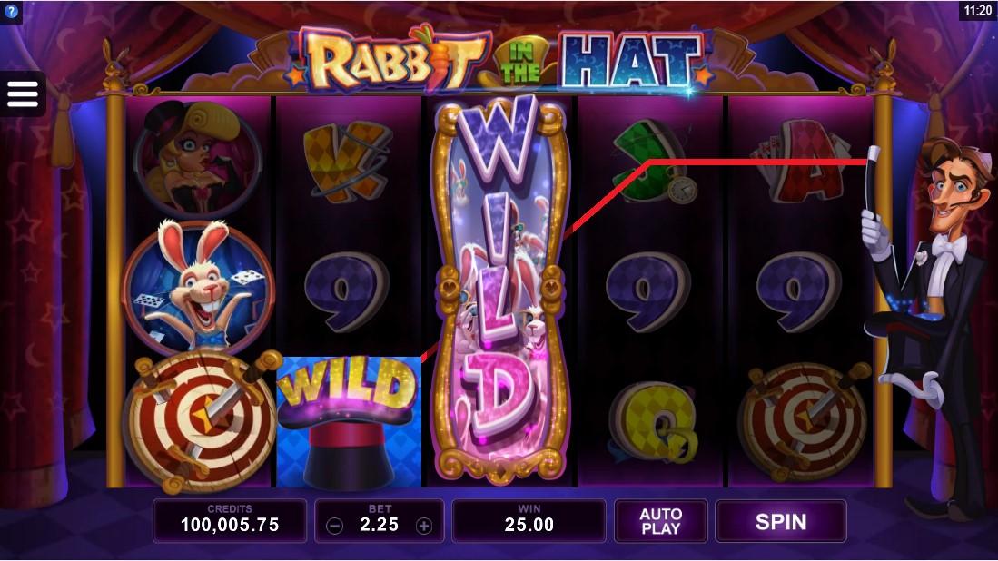 Слот Rabbit in the Hat играть
