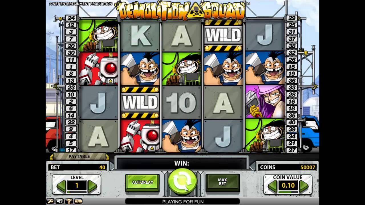 Demolition Squad играть бесплатно