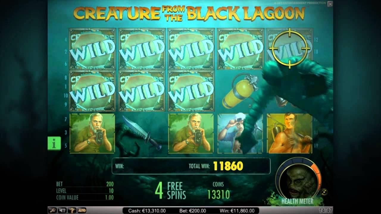 Игровой автомат The Creature from the Black Lagoon