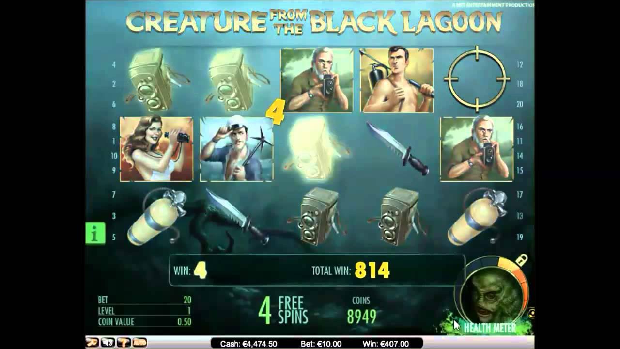 The Creature from the Black Lagoon онлайн игровой автомат