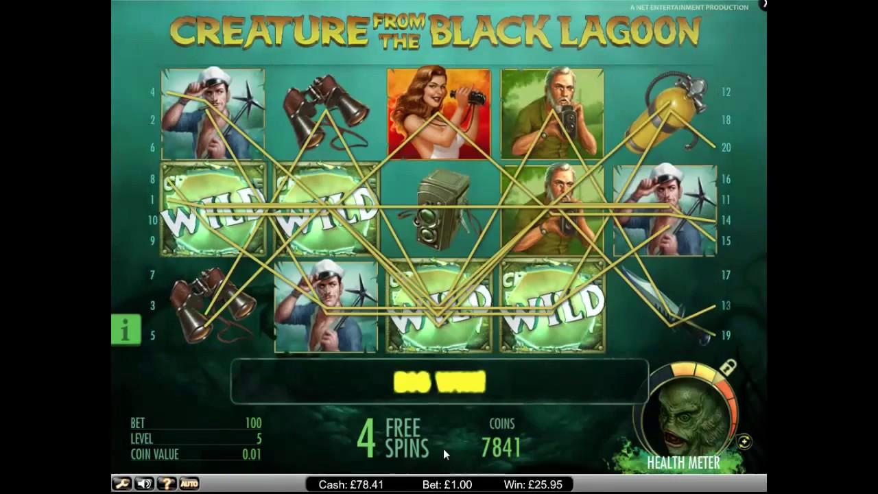 Слот The Creature from the Black Lagoon играть бесплатно