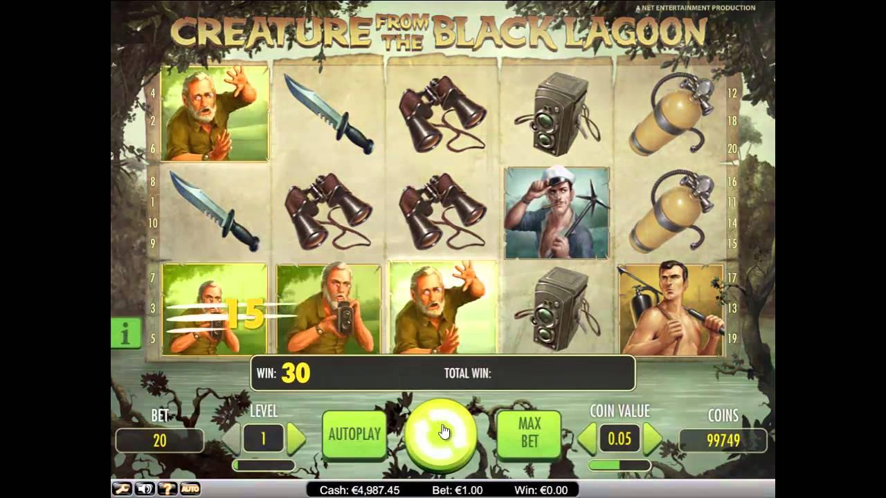 Онлайн слот The Creature from the Black Lagoon
