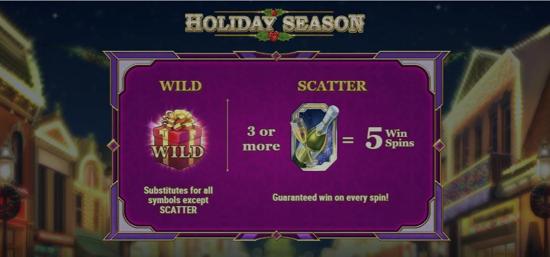 Игровой автомат Holiday Season