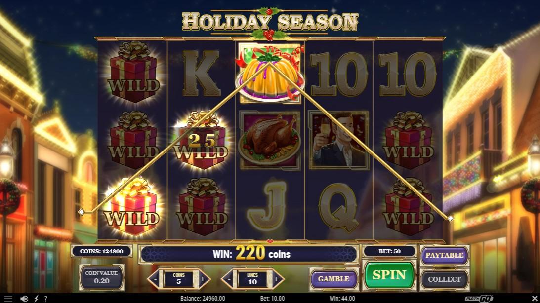 Слот Holiday Season играть