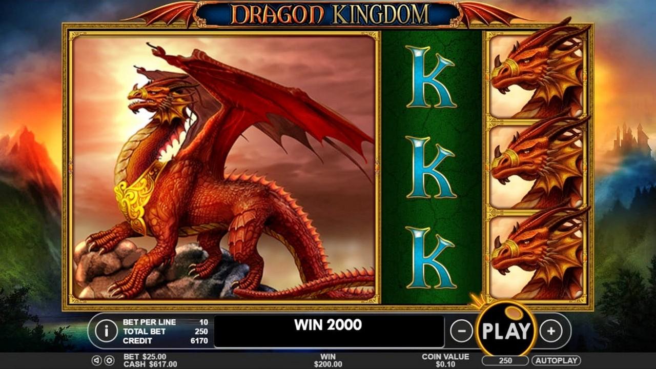 игровые автоматы dragon kingdom