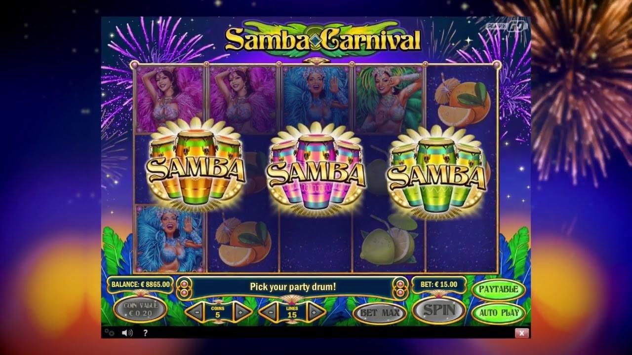 Samba slot machine