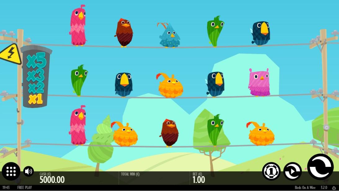 Birds On A Wire игровой автомат