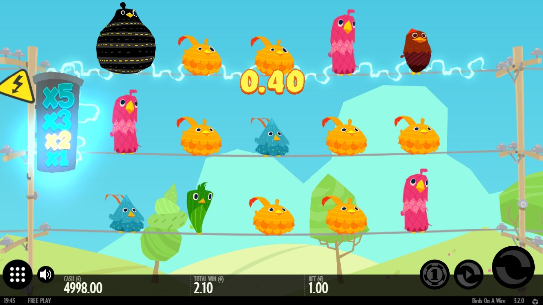 Слот Birds On A Wire играть