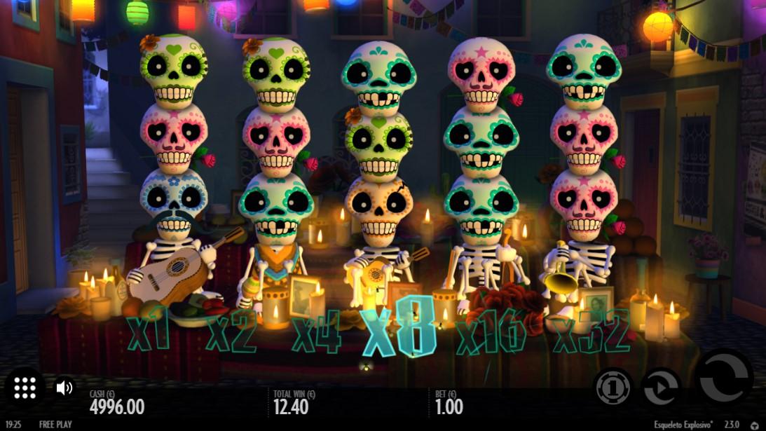 Онлайн слот Esqueleto Explosivo