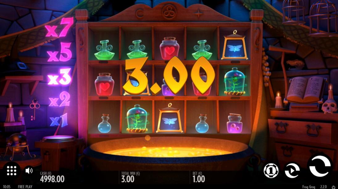 Frog Grog бесплатный слот