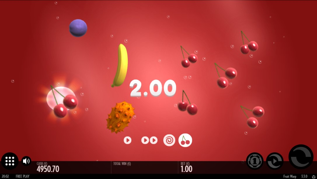 Бесплатный слот Fruit Warp