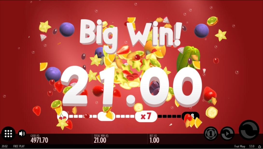 Играть бесплатно Fruit Warp