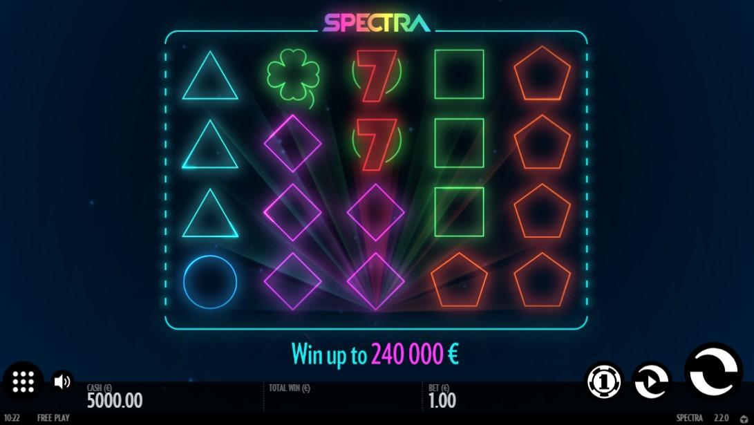 Бесплатный слот Spectra