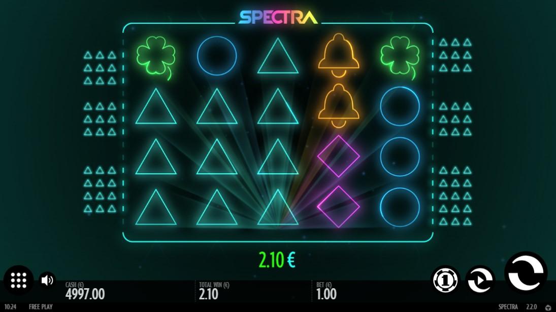 Spectra слот играть