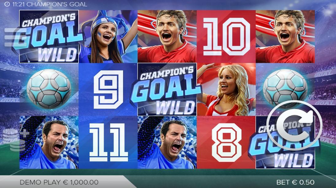 Играть Champions Goal