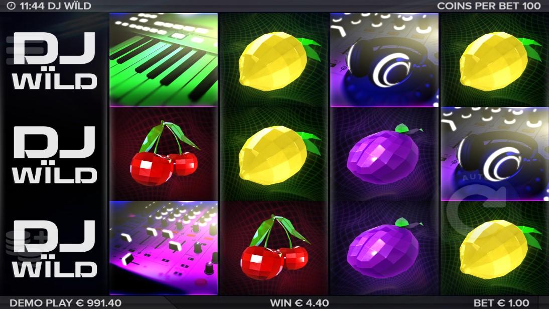 Бесплатный игровой автомат DJ Wild