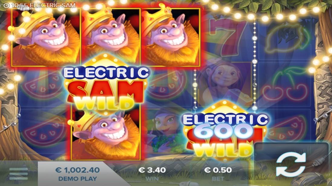 Electric Sam игровой автомат
