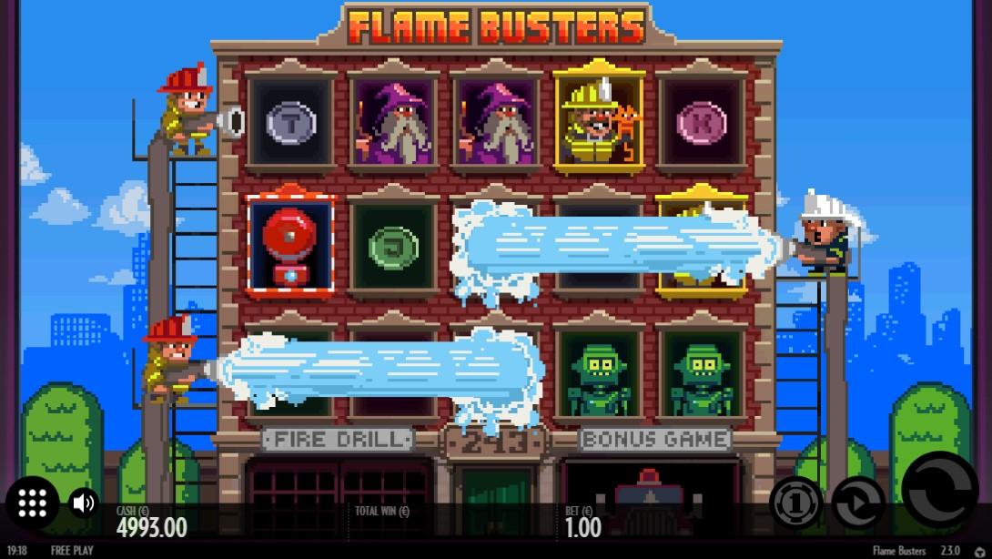 Играть бесплатно Flame Busters