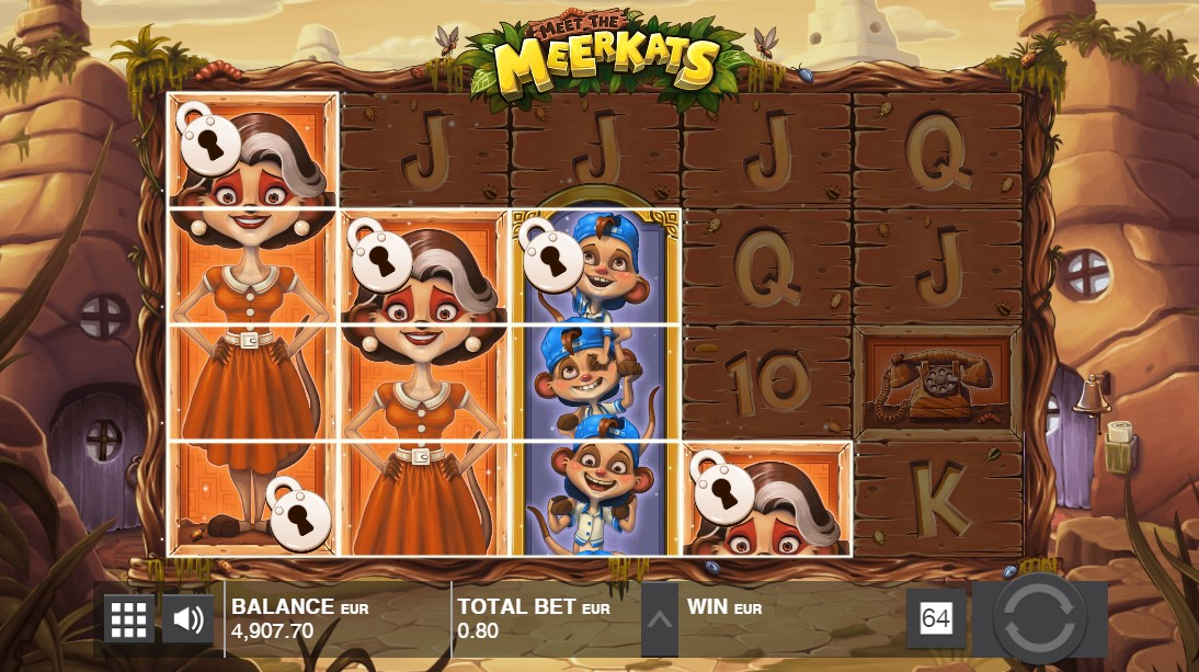 Игровой автомат Meet the Meerkats