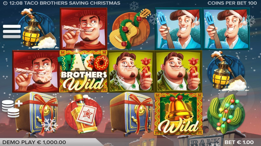Играть Taco Brothers Saving Christmas