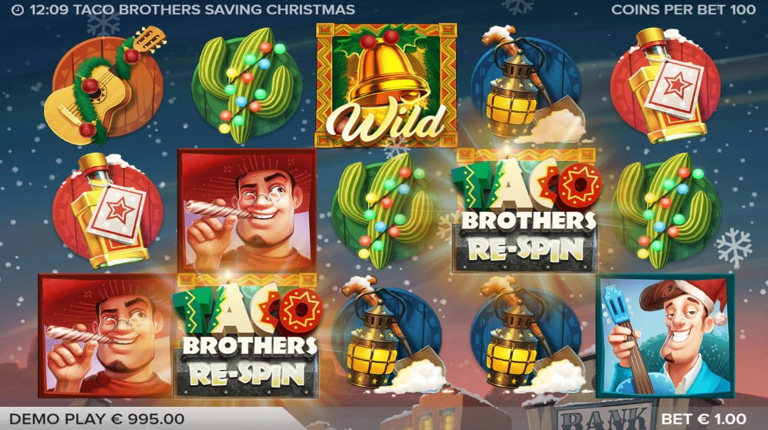 Taco Brothers Saving Christmas слот играть