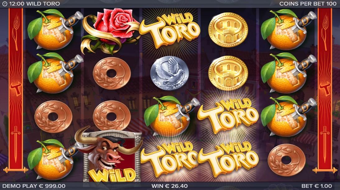 Wild Toro бесплатный слот