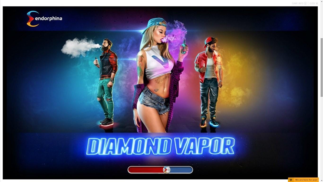 Бесплатный слот Diamond vapor