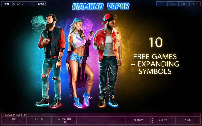 Diamond vapor играть