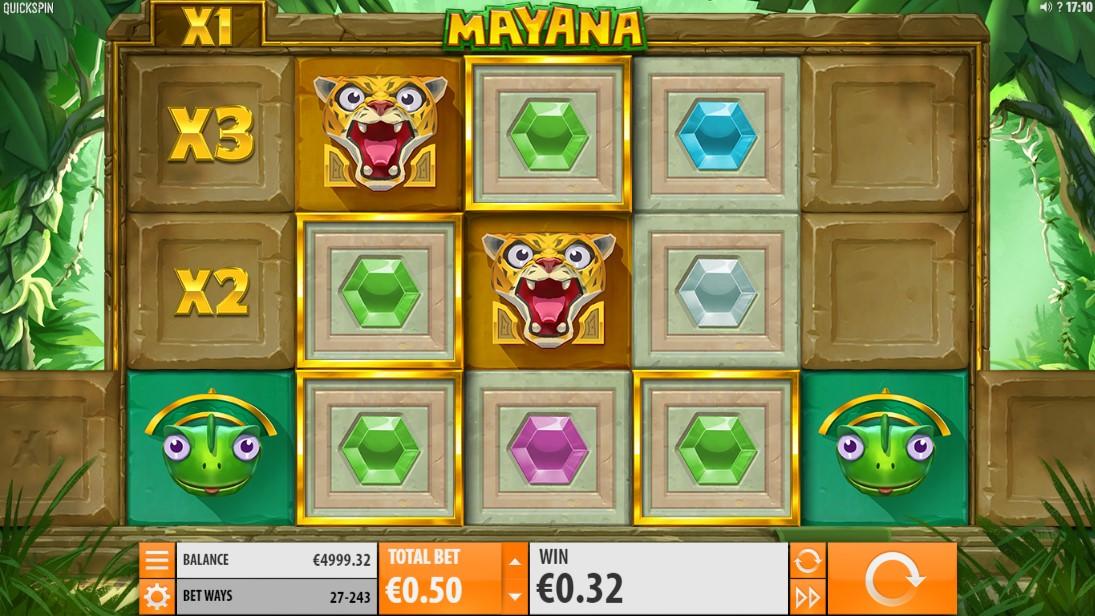 Онлайн слот Mayana