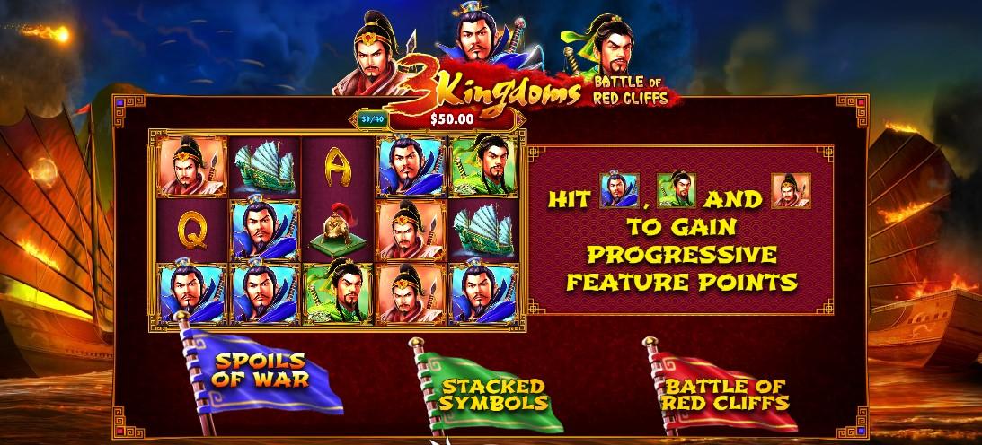 Игровой автомат 3 Kingdoms – Battle of Red Cliffs