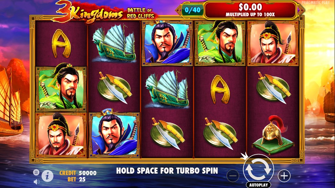 Играть бесплатно 3 Kingdoms – Battle of Red Cliffs