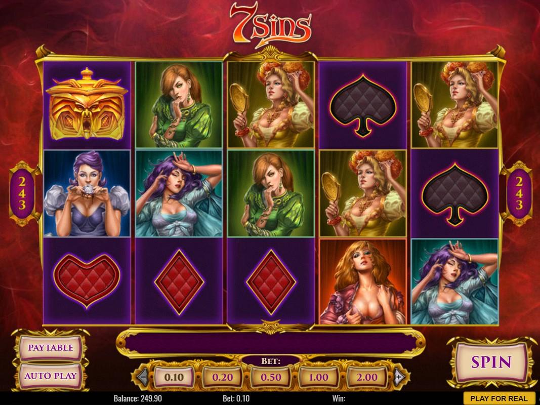 Игровой автомат 7 sins игровые автоматы с шариком купить