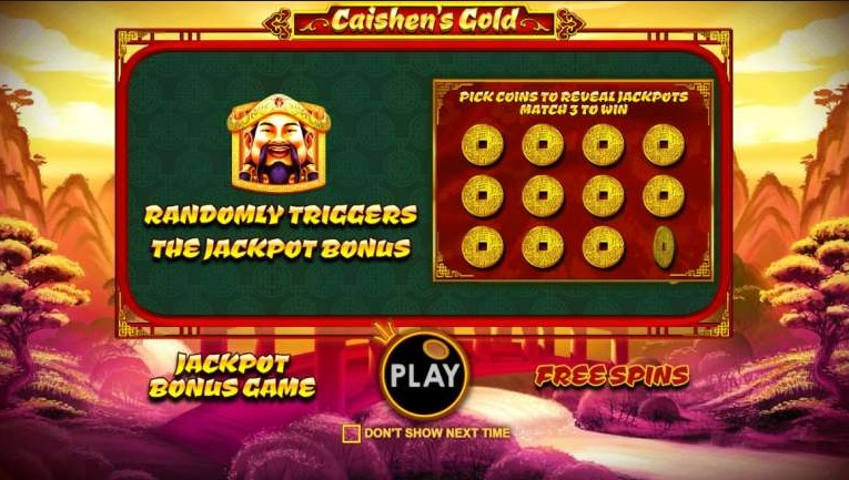 Игровой автомат Caishen's Gold