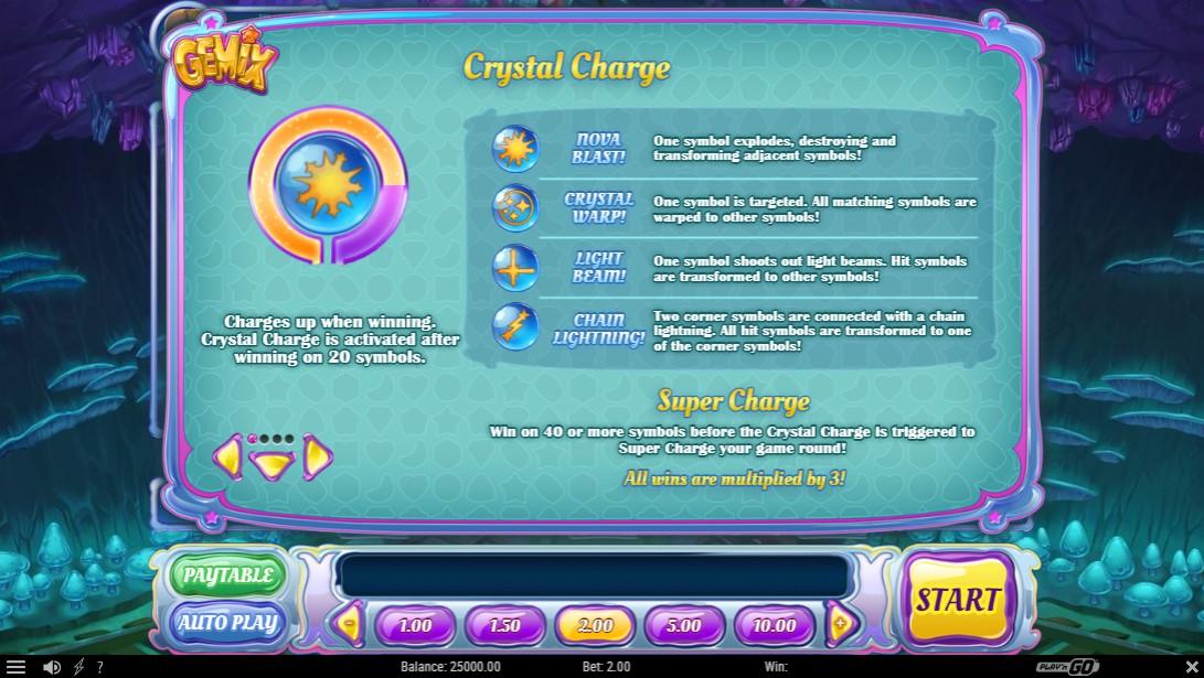 Gemix игровой автомат играть