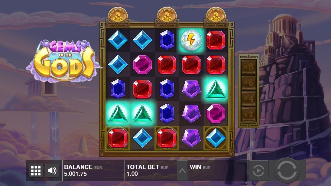 Gems of the Gods играть бесплатно
