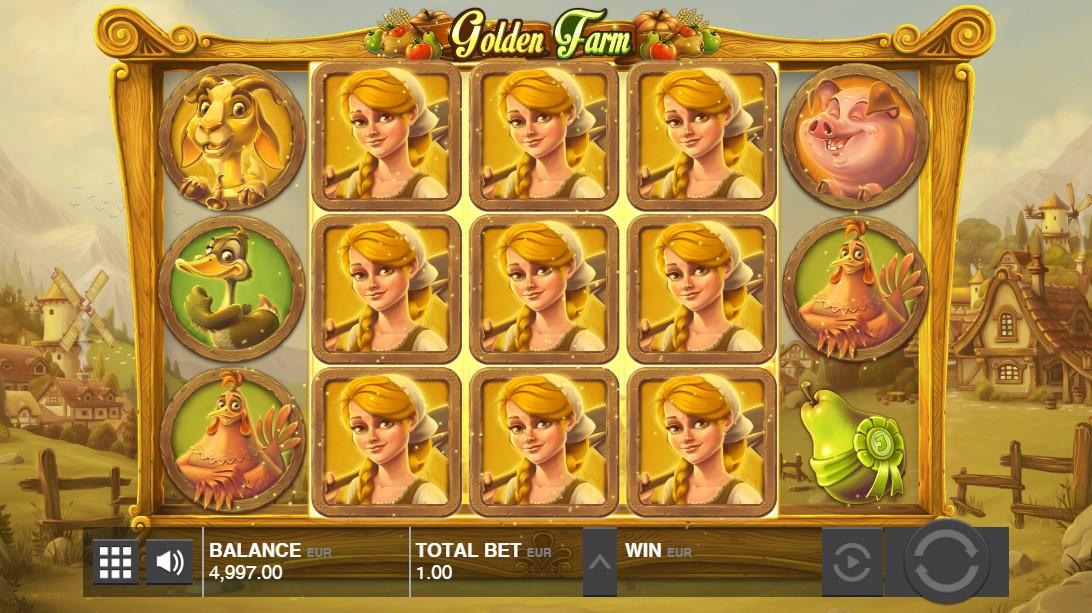 Игровой автомат Golden Farm
