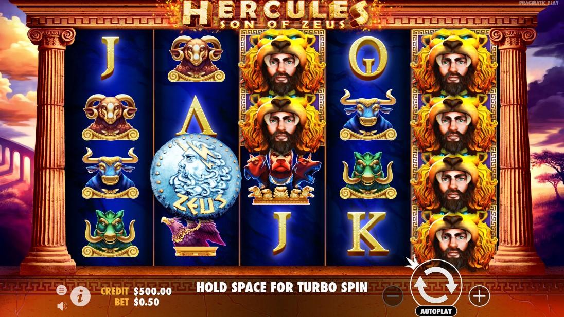 Играть Hercules Son of Zeus