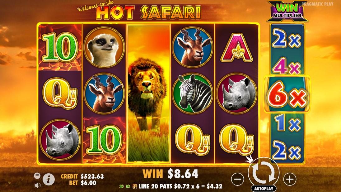 Бесплатный слот Hot Safari