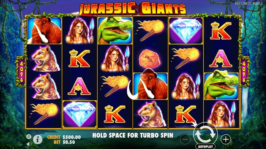 Играть бесплатно Jurassic Giants