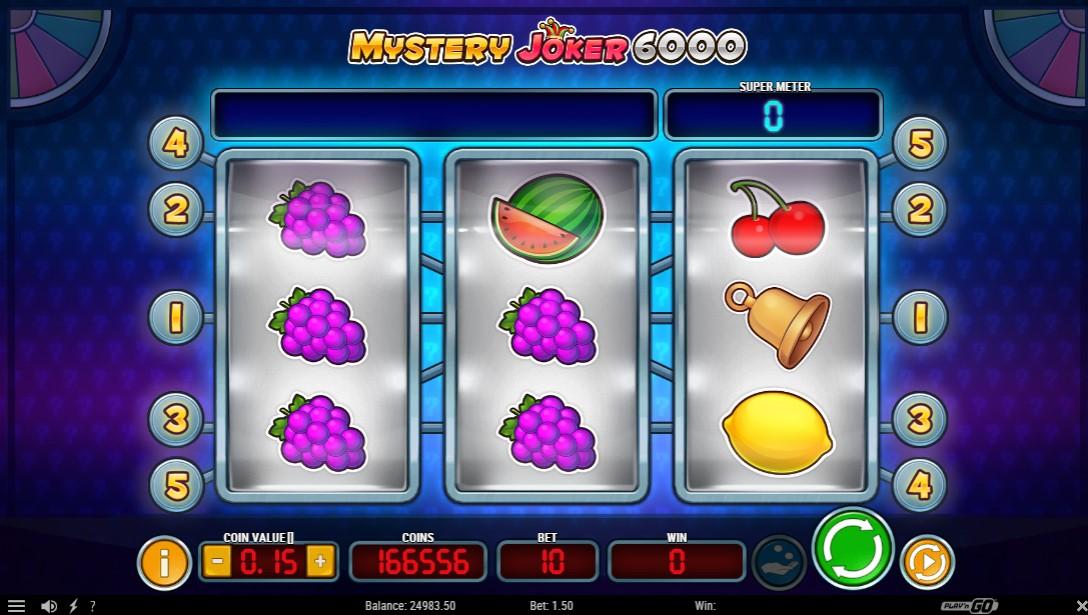 Слот Mystery Joker 6000 играть
