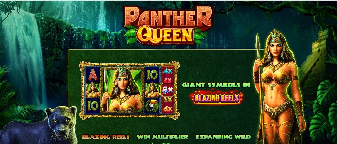 Играть Panther Queen