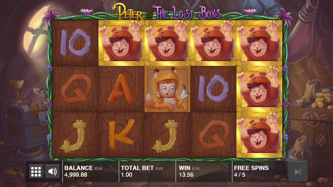 Peter and the Lost Boys играть онлайн