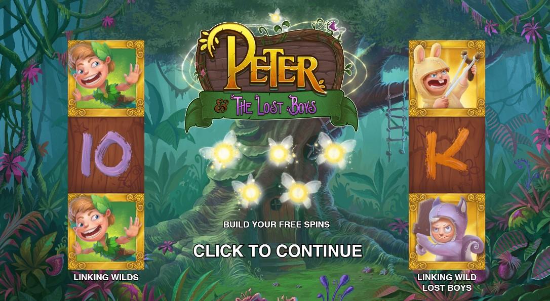Играть Peter and the Lost Boys