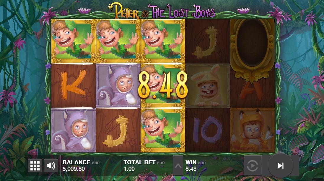 Бесплатный слот Peter and the Lost Boys