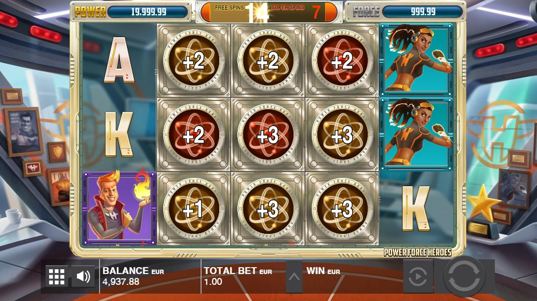 Игровой автомат Power Force Heroes