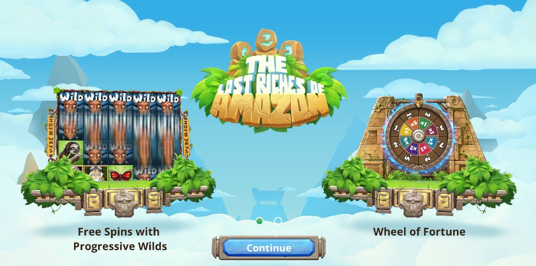 Игровой автомат The Lost Riches of Amazon